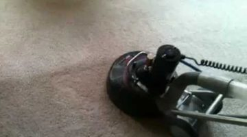 Linton's Carpet Cleaning, using the Amazing Rotovac 360i